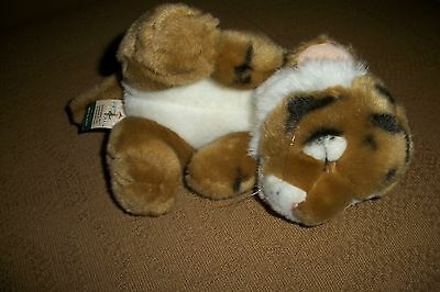 First and Main Tiger Cub plush Purrs