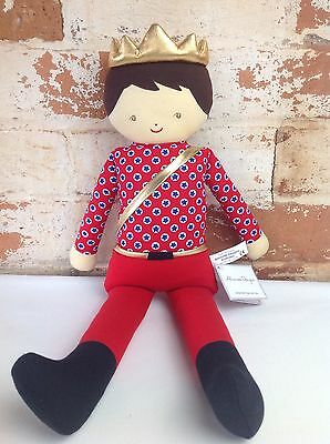 Alimrose (large) Soft Doll Toy - Boy Prince - BNWT