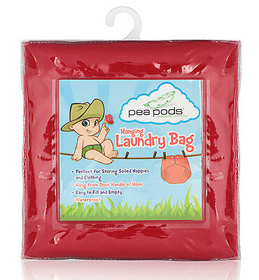 Pea Pods Laundry Bag - Red