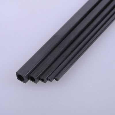 Carbon Fiber Square Tube  200mm Or 400mm Length 1.7mm 2mm 3mm 4mm 5mm OD