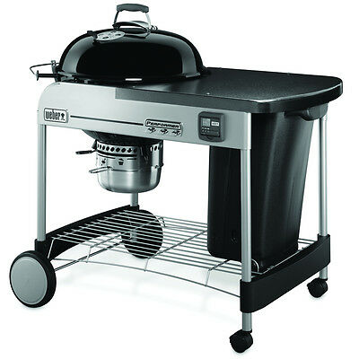 Weber 15401001 Performer Premium Charcoal Grill, 22-Inch, Black New