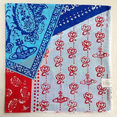 Vivienne Westwood Handkerchief • Made in Japan • Fast Airmail Shipping