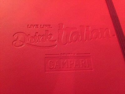 New Red Spector & Co. Leather Campari Notebook