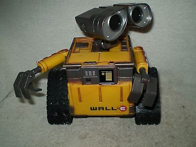 Disney Pixar Wall-E Robot Thinkway Working No Remote Control 7.5 Inches