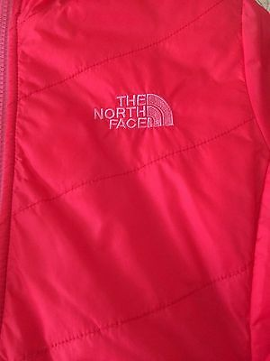 The North Face Girls Pink Reversible Jacket Size 10-12