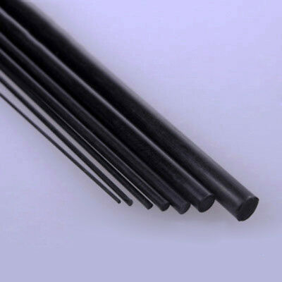 Carbon Fiber Rods For RC Airplane High Quality Pole 0.5-3mm Diameter x 200-400mm