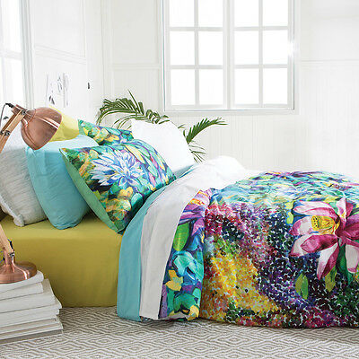 New Habitat Waterlily Quilt Cover Set