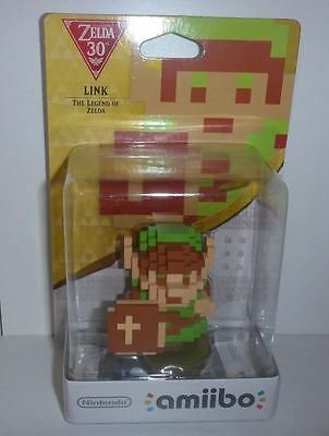 8 Bit Link (The Legend of Zelda - 30th Anniversary) Amiibo - Brand New