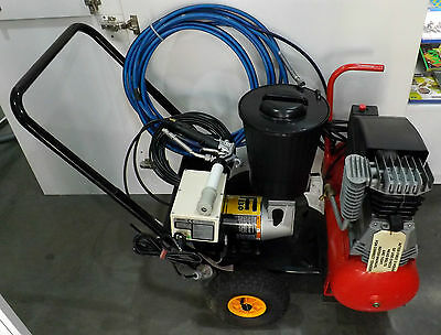 Wagner Finish F230 Electric Airless Paint Sprayer -Mcmillan Air Force Compressor