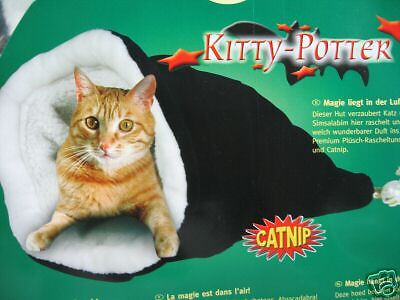 Karlie Kitty Potter Cat / Kitten Fabric Play & Hide Sack Tunnel Toy