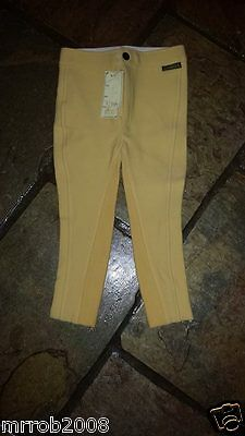 Tots/Childs Show Jods Sz 2-3 Canary