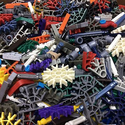 Unsorted Bulk Lot Of KNEX Pieces - Over 5 Pounds