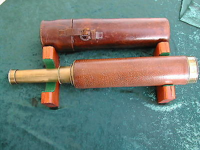 Imp0Rtant Early 19Th Century Telescope By M. Berge