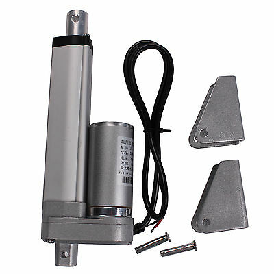 12V 100mm 4inch Linear Actuator Motor 6mm/s 330lbs For Electric Medical Auto Use