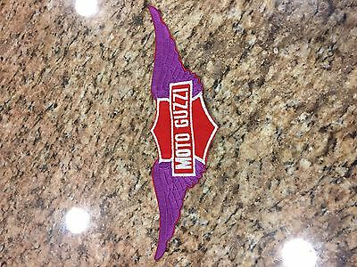 Motto Guzzi Patch LARGE and striking   12 inches