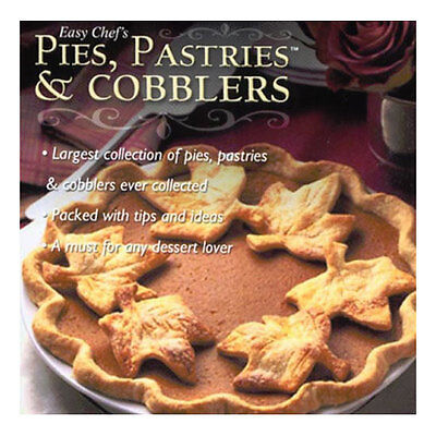 Easy Chefs Pies, Pastries & Cobblers Pc Software Brand New Recipes, Tips, Info