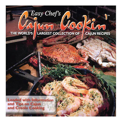 Easy Chefs Cajun Cooking Brand New Pc Software  Loaded With Recipes, Tips, Info