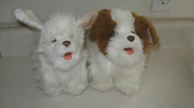 Lot Of 2 Dogs Furreal Friends Interactive Electronic