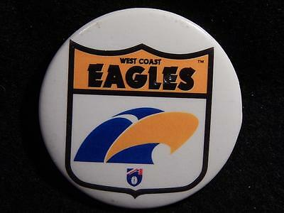 West Coast Eagles Australian Football Club Supporter's Button Badge