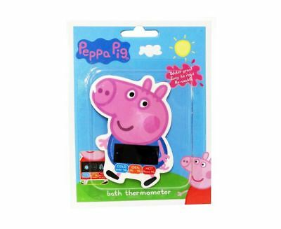 Peppa Pig Bath Thermometer Baby Toddler Bath Temperature Water Proof