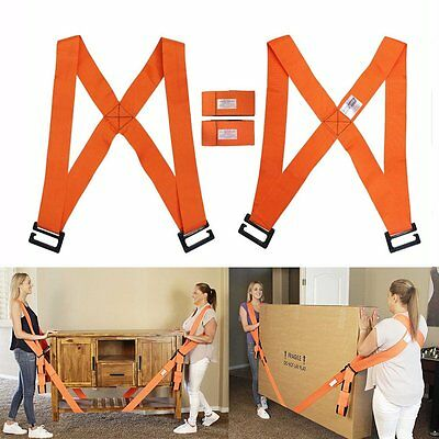 Lifting Shoulder/Hand Moving Strap Heavy Furniture Appliance Holder Lift AidTool