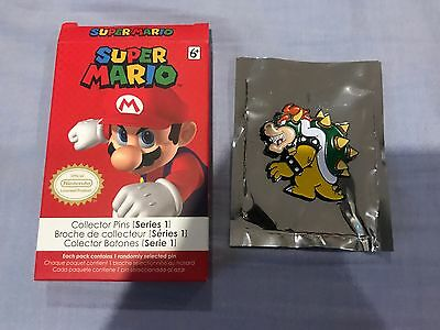 Bowser - Super Mario Brothers Official Collector PIN - Nintendo Series 1