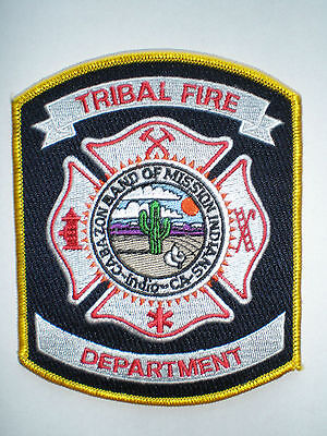 CA California Cabazon Band Tribe of Mission Indians Tribal Fire Department patch