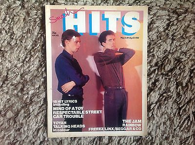 Smash Hits Magazine March 19 - April 1981 (OMD On The Cover)