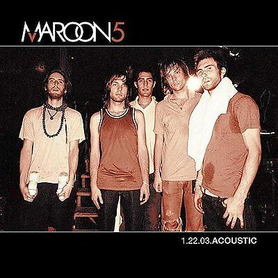 1.22.03.acoustic Cd Maroon 5 Brand New Sealed