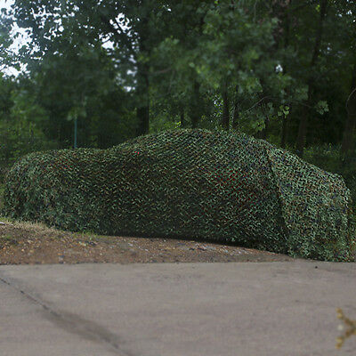 hunting Camping Military Camouflage Net Woodlands Leaves Camo netting Cover 3x5m