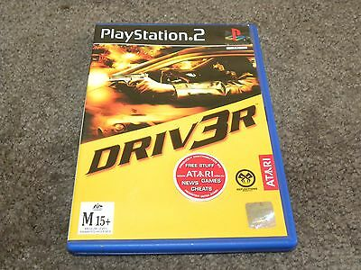 Driver 3 - Sony Playstation 2 Game (ps2) Excellent disc