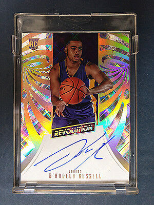 D'Angelo Russell 2015-16 Panini Revolution RC Rookie Auto