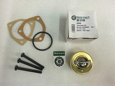 2a /& 3 Thermostat Top Gasket 3MB 527110 Bearmach Land Rover Series 2