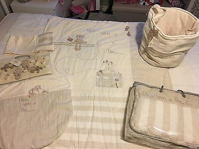 Mamas and Papas Nursery Set Bundle - Once Upon A Time - Excellent Condition