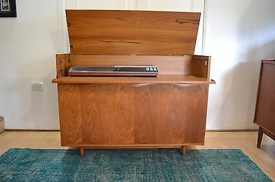 Chiswell Teak Record Player Sideboard - Very Rare 1970s Retro Vintage