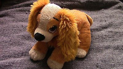 """Disney Store Lady And The Tramp Lady Plush 10"""" Soft Toy"""