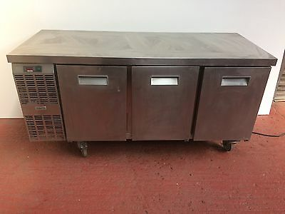 Zanussi 3 Door Commercial Bench Fridge