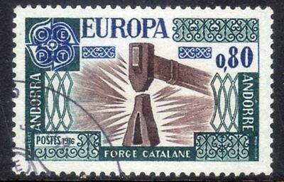 French Andorra. Edifil 274. Very fine used.