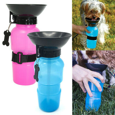 Dog Travel Sport Water Bottle Outdoor Feed Drinking Bottle Pet Supply Portable