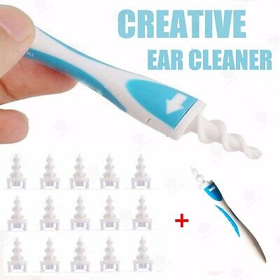 Ear Cleaner Wax Removal Easy Earwax Remover Spiral Soft Safe Earpick Gadget