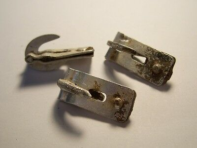 WW2 Original German Elite Helmet Cover Rocker Clips