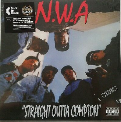 NWA - Straight Outta Compton - 180gram Vinyl LP & Download *NEW & SEALED*