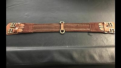 Double Buckle Stock Girth 80cm NEW
