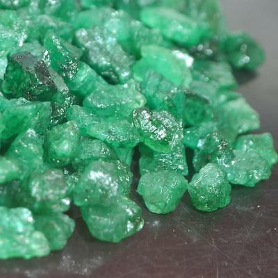 201.016 Ct Natural Colombian Earth Mines Green Emerald Rough Gemstone Lot