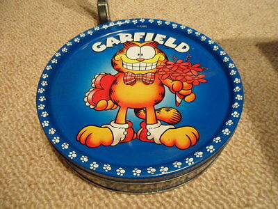 Collectable Garfield Biscuit Tin.