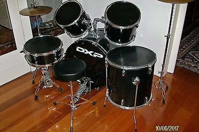 DXP pioneer series Drum Kit with new throne and new snare stand