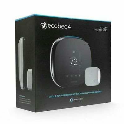 Ecobee4 Wi-Fi Thermostat With Sensor! NEW *LOOK HERE**
