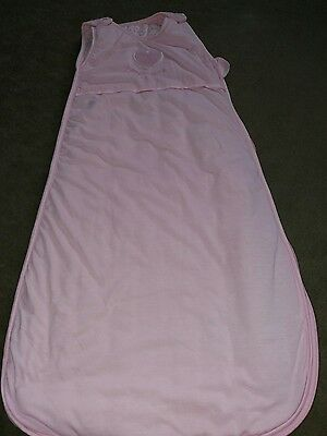 pink baby sleeping bag age 9 -18 months