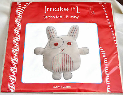 NEW Lutenegger   make it 'Bunny' Sewing Kit. - 35cm x 39cms