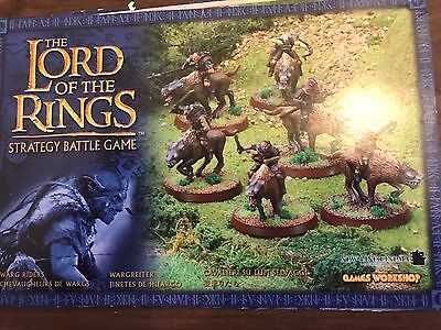 Lord Of The Rings Warhammer, Warg Riders
